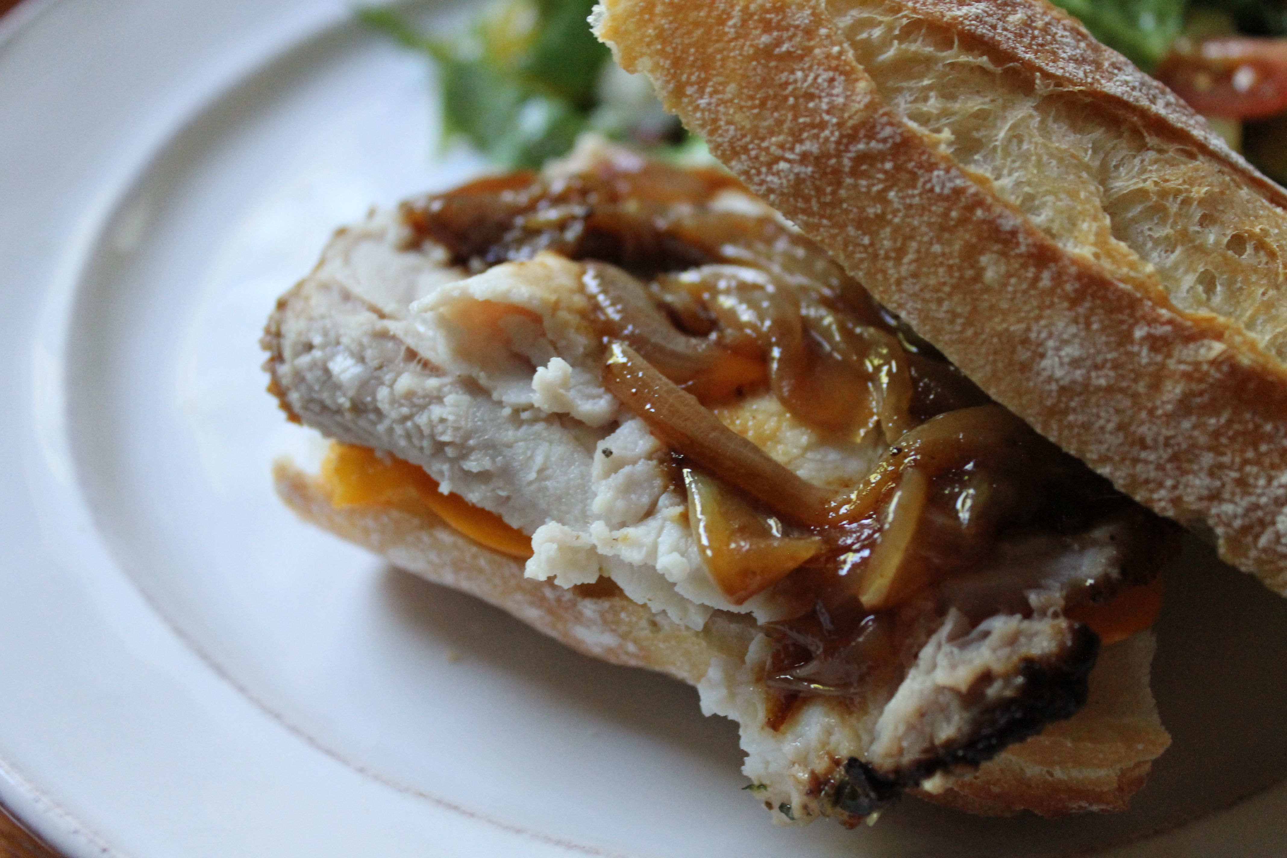 Father's Day Favorites Shaved Pork Roast Sandwiches