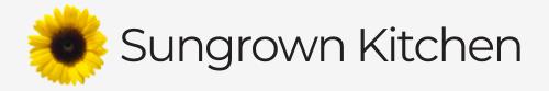 Sungrown Kitchen logo