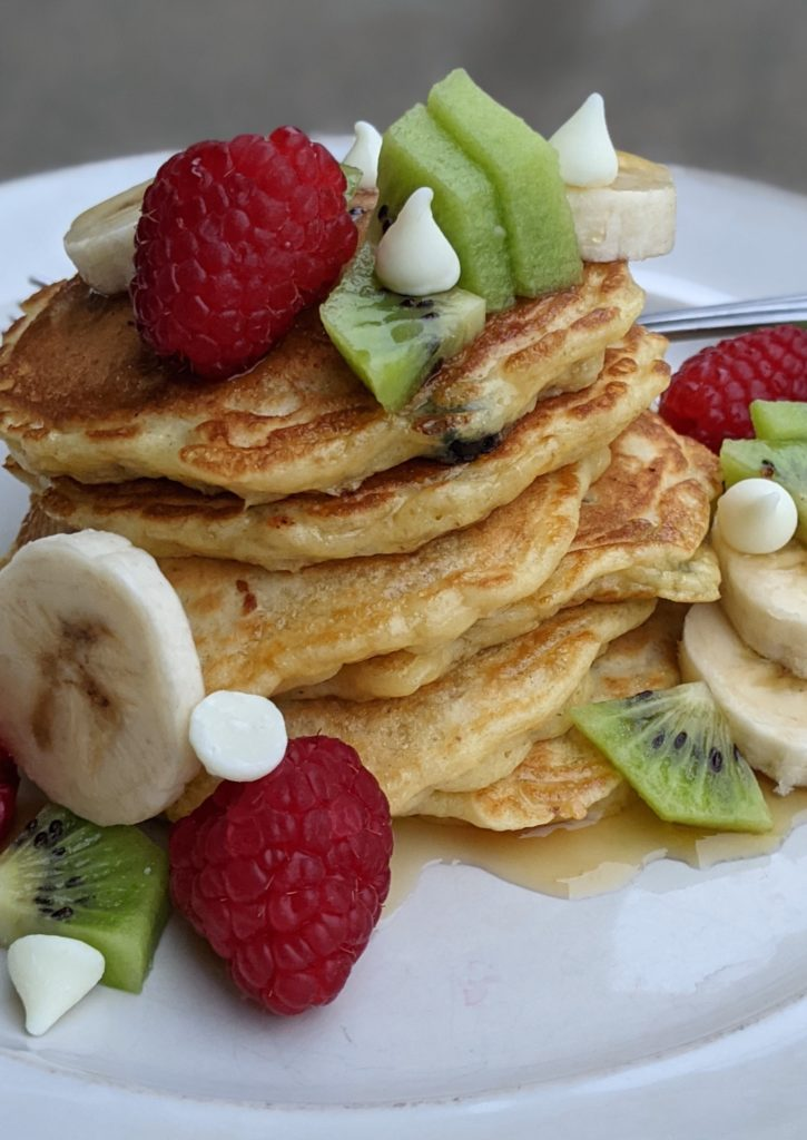 Christmas Morning Protein Pancakes